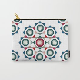 Tile mandala Carry-All Pouch