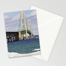 Bright Mackinac Bridge Stationery Cards