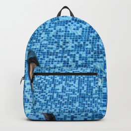 Summer Swimming Pool Backpack