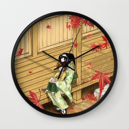 Kenshin's family Wall Clock