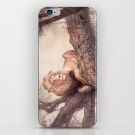 Up a Tree iPhone Skin