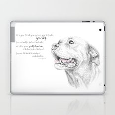 Murphy :: Loyalty [with Quote] Laptop & iPad Skin