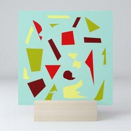 Abstract Collage 5 Mini Art Print