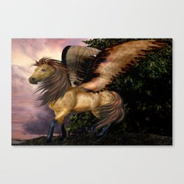 The Realm of the Pegasus Canvas Print