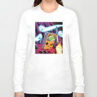 gameboy Long Sleeve T-shirts featuring The Legend of Gameboy by thechrishaley