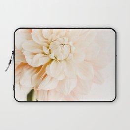 Vanilla Truffle Dahlia Laptop Sleeve