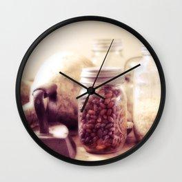 Grandma's pantry Wall Clock