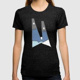 Little blue man T-shirt