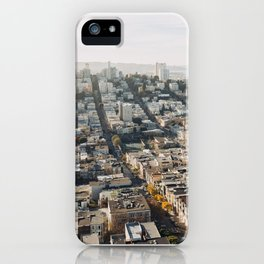 Fall in San Francisco iPhone Case