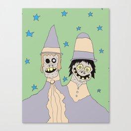Star Twins Canvas Print