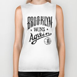 Brooklyn Wins Again (Home)  Biker Tank