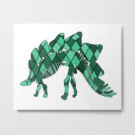 Stegosaurus Metal Print