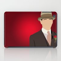boardwalk empire iPad Cases featuring Nucky Thompson - Boardwalk Empire by Tom Storrer