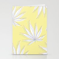 weed Stationery Cards featuring weed by Estelle F