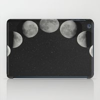 moon phases iPad Cases featuring moon phases by Galaxys_Limit