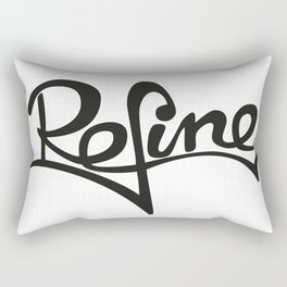 refine Rectangular Pillow