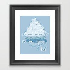 Iceburger Framed Art Print