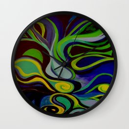 Dazed and Confused Wall Clock