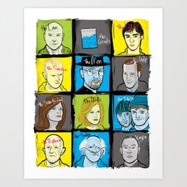 Breaking Bad for Dummies Art Print