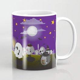halloween hedgehogs party gang Coffee Mug