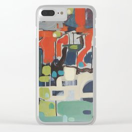There is something between us Clear iPhone Case