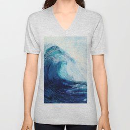 Waves II Unisex V-Neck