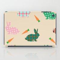 rabbits iPad Cases featuring rabbits by vitamin