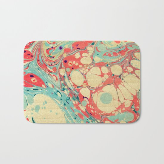Abstract Painting ; Coast Bath Mat
