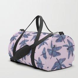 Dragonfly & Lotus Duffle Bag