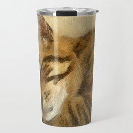 Let Sleeping Cats Lie Travel Mug