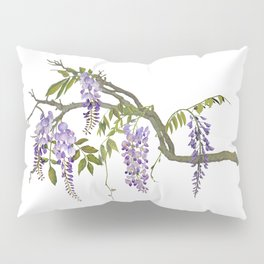 Cockatoos and Wisteria Pillow Sham