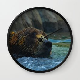 Grizz Wall Clock