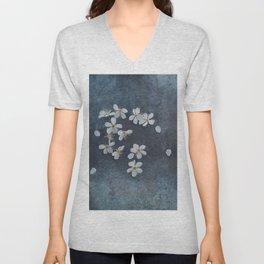 Delicate Sakura Blossom Unisex V-Neck