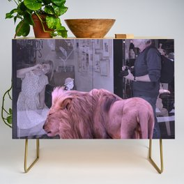 Searching the Beauty. African Invasion Credenza