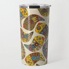 love bird paisley Travel Mug
