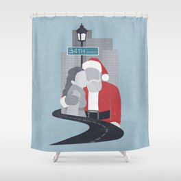 34th Street Miracle Shower Curtain