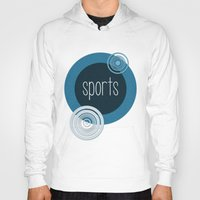 sports Hoodies featuring SPORTS by VIAINA DESIGN