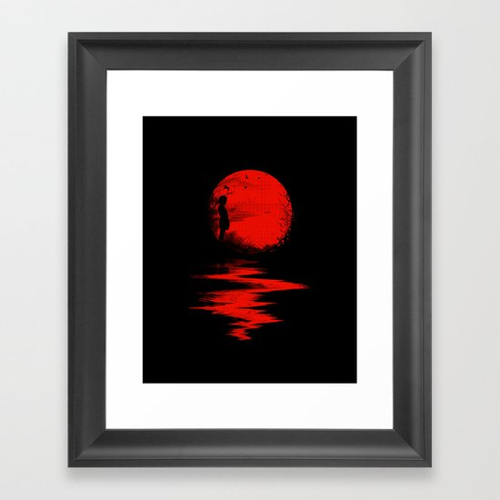The Land of the Rising Sun Framed Art Print