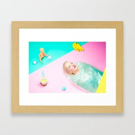 Miss Palmer Framed Art Print