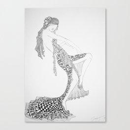 Dancer Series - Costello Canvas Print