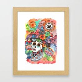 Social Pace Framed Art Print