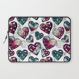 Galaxy Heart Pattern 01 Laptop Sleeve