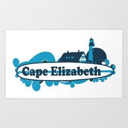 Cape Elizabeth. Art Print