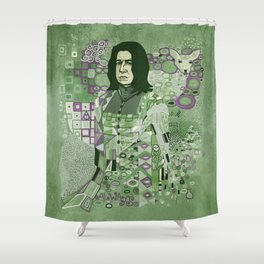 Portrait of a Potions Master Shower Curtain