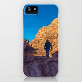 Hiking Girl II iPhone Case
