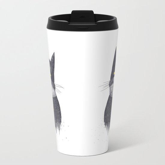 Catman Metal Travel Mug