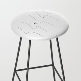 Perky Saggy Bar Stool