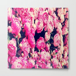 As Beautiful as a Flower Metal Print