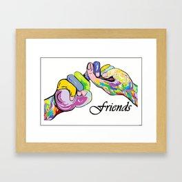 ASL Friends Framed Art Print