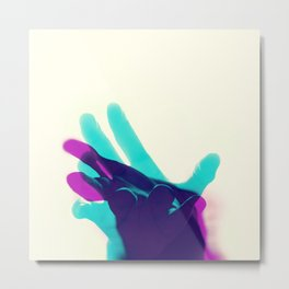 Reaching 01 Metal Print